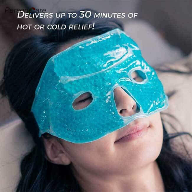 Cold Gel Beads Eye Mask